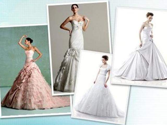 Would you be seen in a $99 wedding gown?
