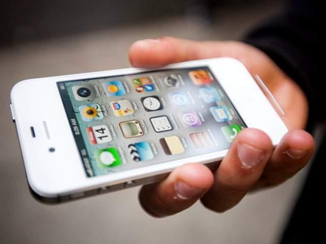 An iPhone 5