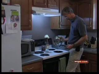 Self-cleaning oven scorches, melts cabinets