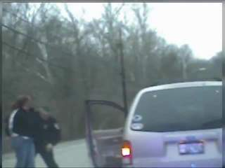 Cruiser cam video of arrest in Addyston