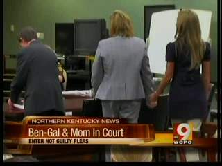 Ben-Gal, mom enter not guilty pleas