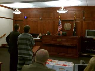 Charles Stephenson in court