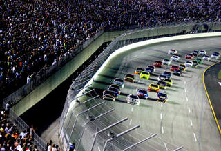 Take 5 laps for charity tonight at Ky. Speedway