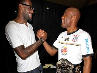 LeBron James and Anderson Silva_20120708083339_JPG