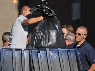 Trash near apartment of James Holmes - Movie theater shooting_20120720140306_JPG