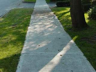 File photo of a sidewalk