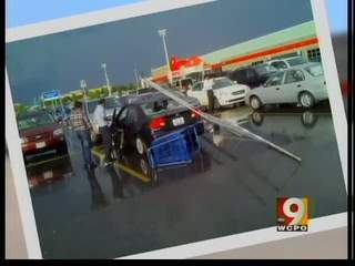 Be careful where you park in store lots
