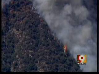Wildfires outside LA cause stir