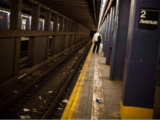 subway before Sandy