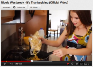 Nicole Westbrook - It's Thanksgiving