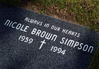 Nicole Brown Simpson's grave