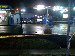 Sunoco gas station shooting, robbery