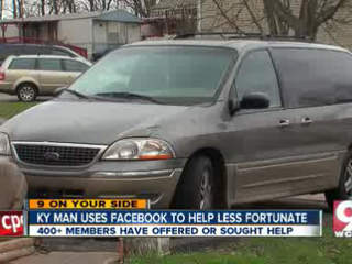 Man starts charity on Facebook