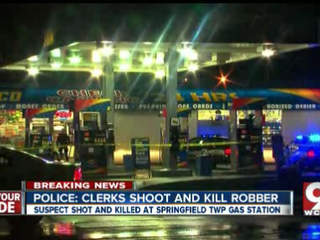 Prosecutor won't charge gas station clerks who shot, killed robbery suspect