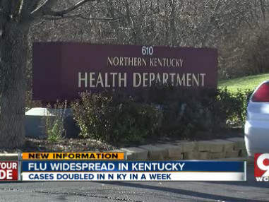 Flu widespread in N. Kentucky