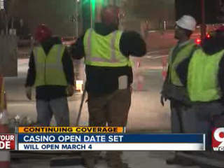 Downtown businesses prepare for the opening of the Horseshoe Casino