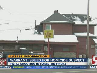Hamilton police look for murder suspect