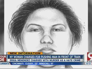 NYC woman charged with murder as a hate crime after pushing a man in front of subway train