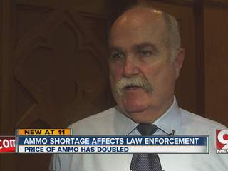 Butler County Sheriff Paying Double for Ammunition