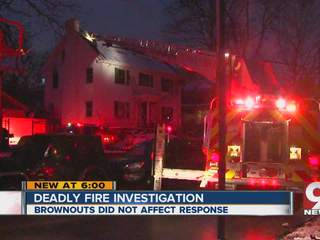 Fire crews say 'brownouts' not a factor in deadly New Year's fire