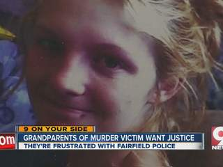 Grandparents want justice for murdered grandchild