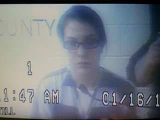 Shayna Hubers on video trial on Jan. 16, 2013.