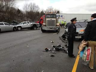 I 75 wreck near Middletown