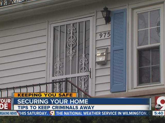 Best Ways To Protect Your Home From Thieves Wcpo