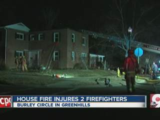 Crews battle fire in Grennhills