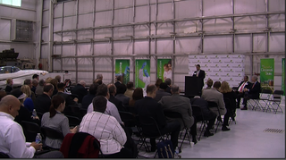 Cincinnati State celebrates two new hangars at campus near Harrison