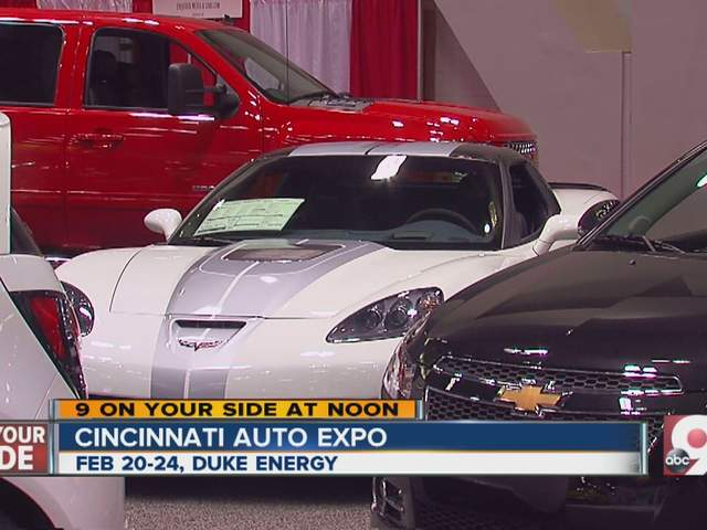 Cincinnati Auto Expo At Duke Energy Center Wcpo