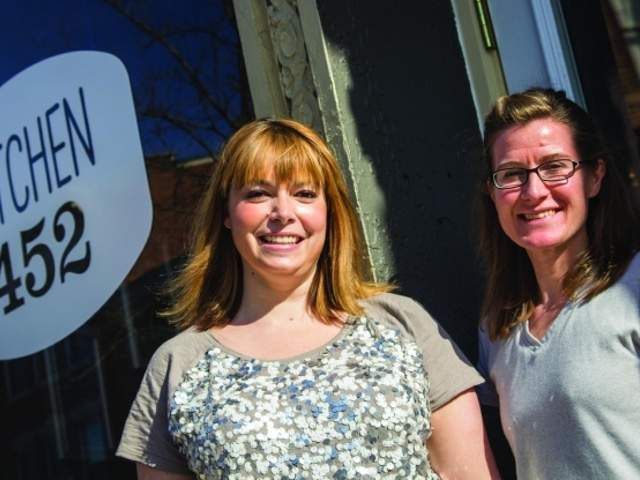 Leah joos and jen lile follow their dreams and taste buds for Kitchen 452 cincinnati