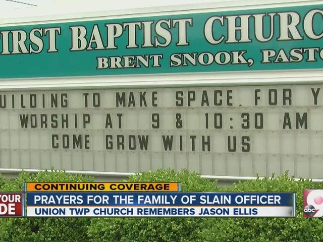 Community remembers officer who was shot, killed