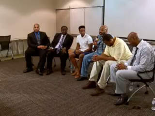 WATCH: Black leaders, sons discuss race