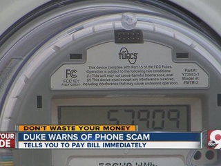 Cincinnati woman falls victim to Duke phone scam