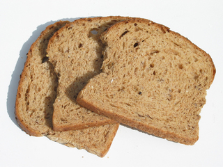 Is there broken glass in your bread?