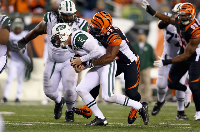 James Harrison Jets Sacked by James Harrison