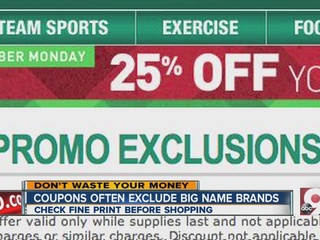 Frustrated by coupon exclusions? What you can do