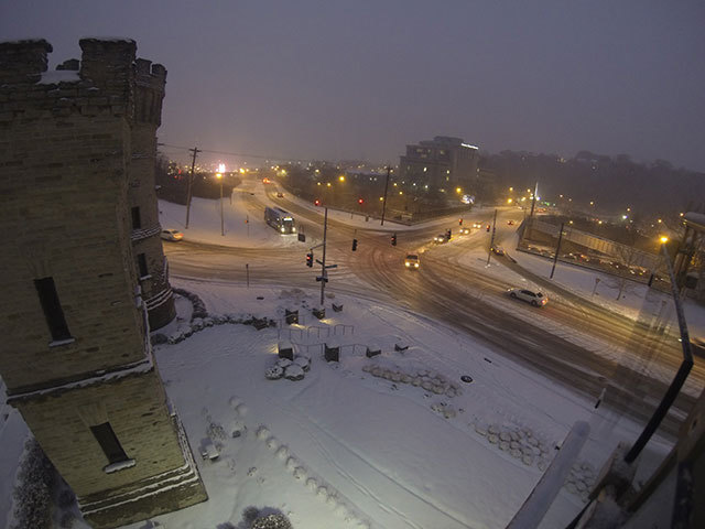 More snow tonight with light accumulation