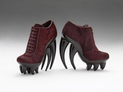 Iris Van Herpen's Fang Shoes