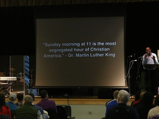 Fledgling New Life church shares MLK's dream