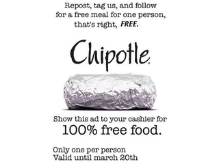 Chipotle free meal coupon: Real or hoax?