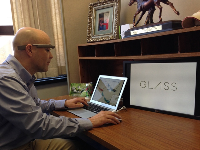 Cincy State tech teacher scores Google Glass