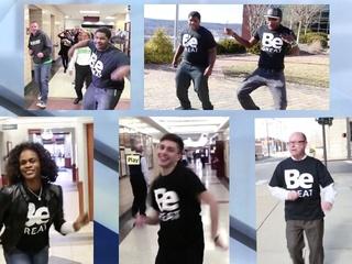 VIDEO: Cincinnati State gets 'Happy'