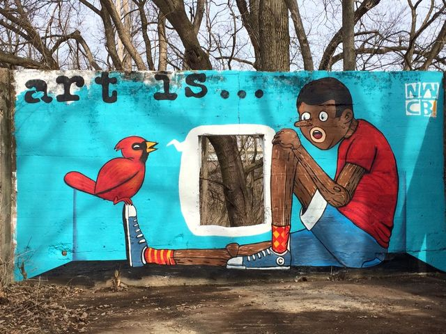 Licking River Greenway and Trails gets mural