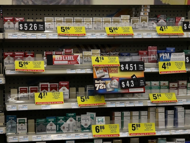 How much do Dunhill cigarettes cost in Chicago