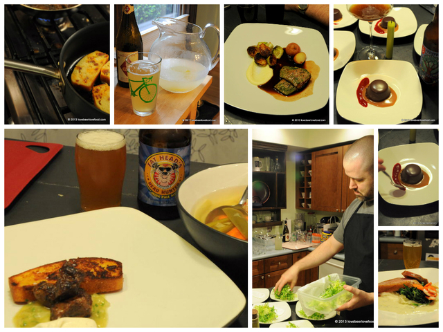 So you want to host a beer pairing dinner