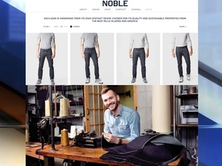Custom jeans for men? Noble Denim is sew there