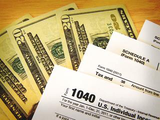 Stapling tax returns slows down process