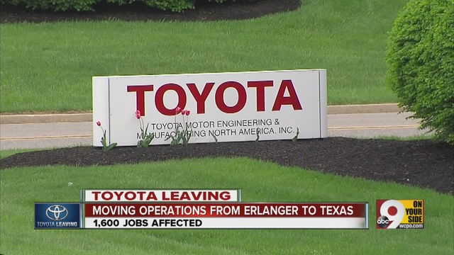 Jobs At Toyota Georgetown Ky Toyota Motor Corp. to leave Erlanger, Kentucky headquarters - Story